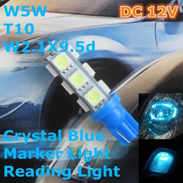 buy 12v led crystal blue color car bulb. Black Bedroom Furniture Sets. Home Design Ideas