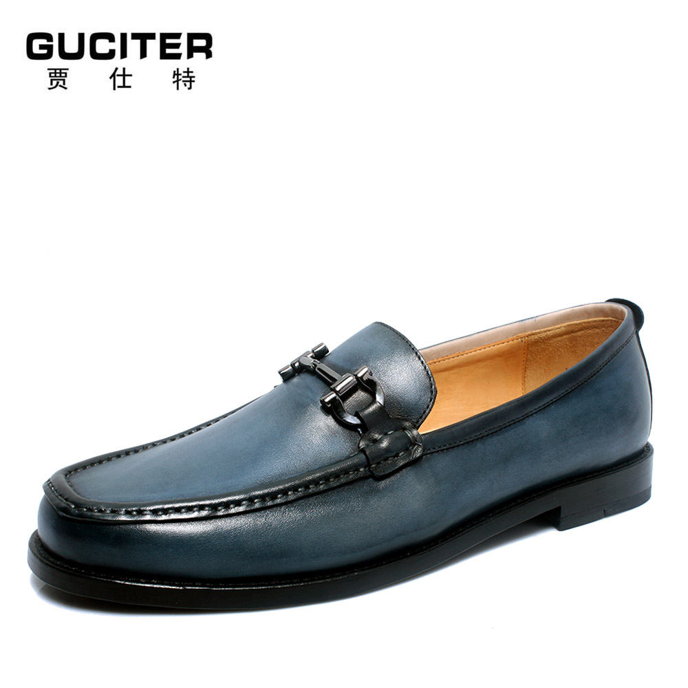 Free Shipping Cheap Goodyear manual custom mens shoes small head layer cowhide loafers doug popular summer slip-on shoe free shipping high grade custom made lag element face goodyear manual custom mens leather shoes business private party shoe