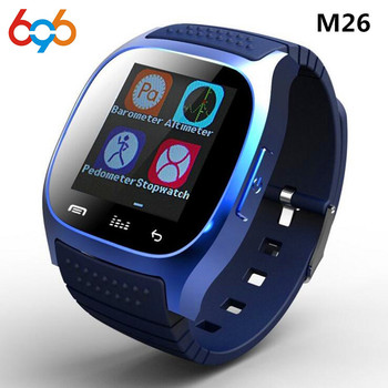 696 waterproof Smartwatch M26 Bluetooth Smart Watch Daily waterproof LED Display For Android Phone