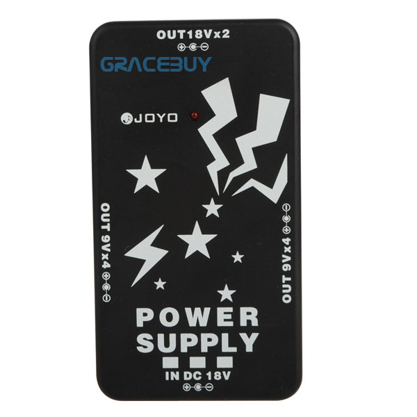 JOYO JP-01 Power Supply Output of 8 Way DC 9V 2 Way 18V For 10 Guitar Effect Pedals Brand New fonte pedal