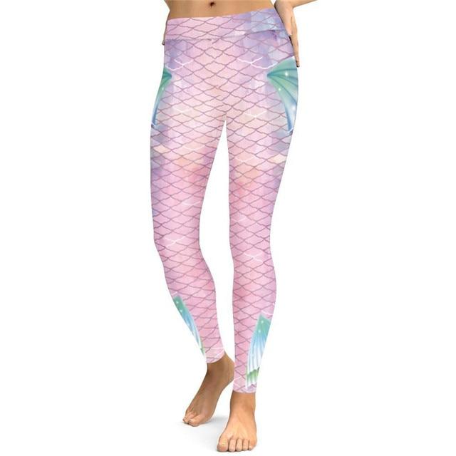 Women's Fashion Leggings Printed Quick Dry Women Fitness Legging Slim Jeggings New Sportwear