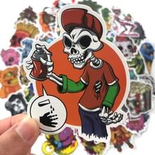 Pvc Stickers Horror Theme 100 Pcs