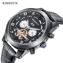 KIMSDUN Automatic Mechanical Watch Men Luxury Brand Fashion Tourbillon Watches Mens High Quality Dropshipping New Arrival 2019
