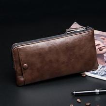 stacy bag 092716 hot sale man day clutch bag male fashion long design zipper wallet