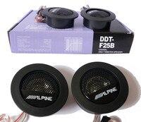 Universal High Efficiency Car Audio Speaker 1Pair Car Mini Dome Tweeter Loudspeaker Alpine Super Audio Auto