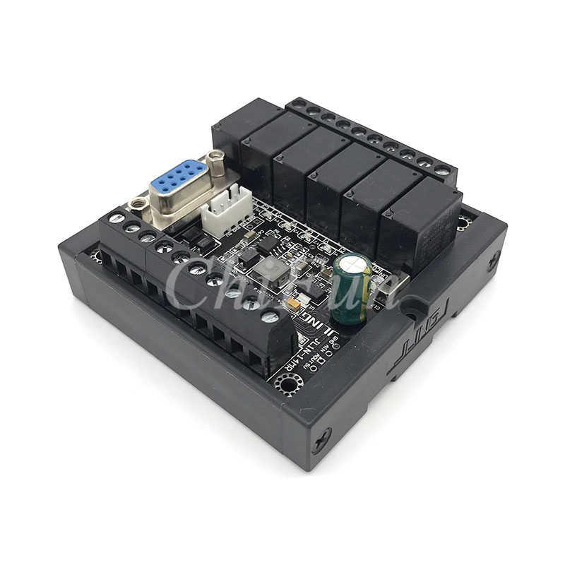 PLC FX1N-14MR تأخر وحدة مع كابل البرنامج وقذيفة