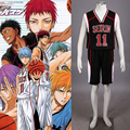 Seirin muchachos uniforme del baloncesto No. 11 negro Kuroko no Basuke 2 de Anime Cosplay traje para kurokos cesta