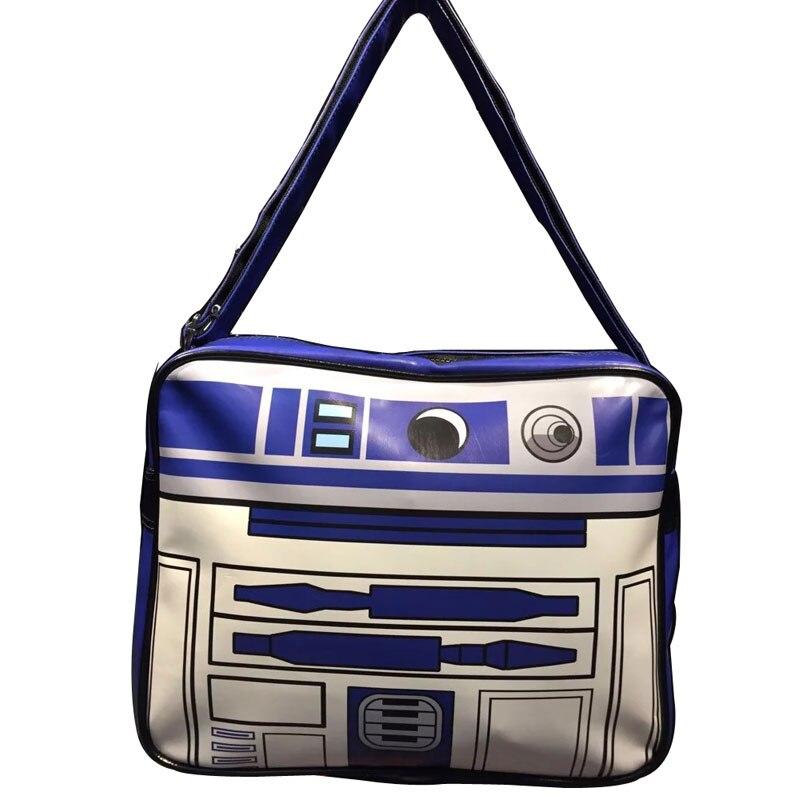 Comics Marvel Anime Starwar Messenger Bags Movie Star Wars Printed Leather Shoulder Bag bolsa feminina Fashion Casual Men Purse star wars purse high quality leather