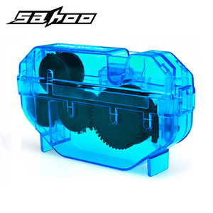 Image 2 - SAHOO Bicycle Chain Cleaner Tools Kit Cycling Road Mountain Bike MTB Cleaning Brushes Wash Scrubber Accessories