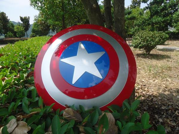 Captain America Shield 1:1 The Avengers Captain America Cosplay Costume Weapon Amor Props Civil War Steve Rogers Cosplay Shield