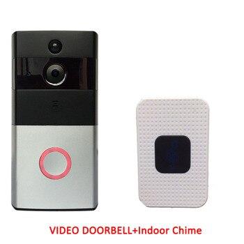 Alexa Google Full HD Wi-Fi Enabled Smart Video Tuya WiFi Ring Doorbell Remote Control Door Bell Wireless Tuya Smart Camera 1080P 8