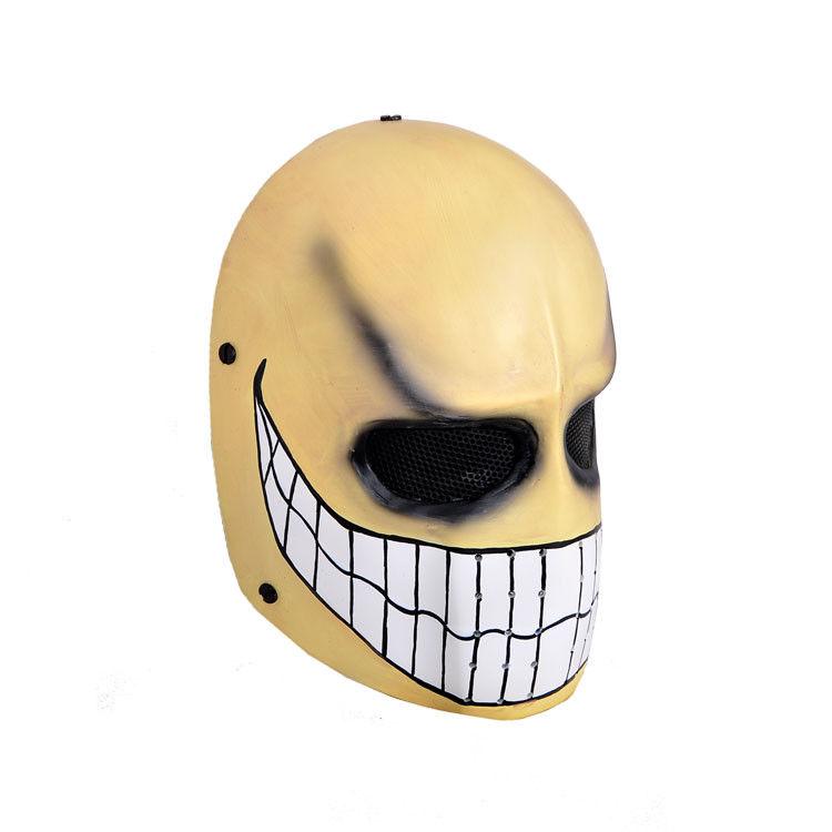 Game AVA Mask Fiberglass Resin Alliance of Valiant Arms Black Replica Halloween