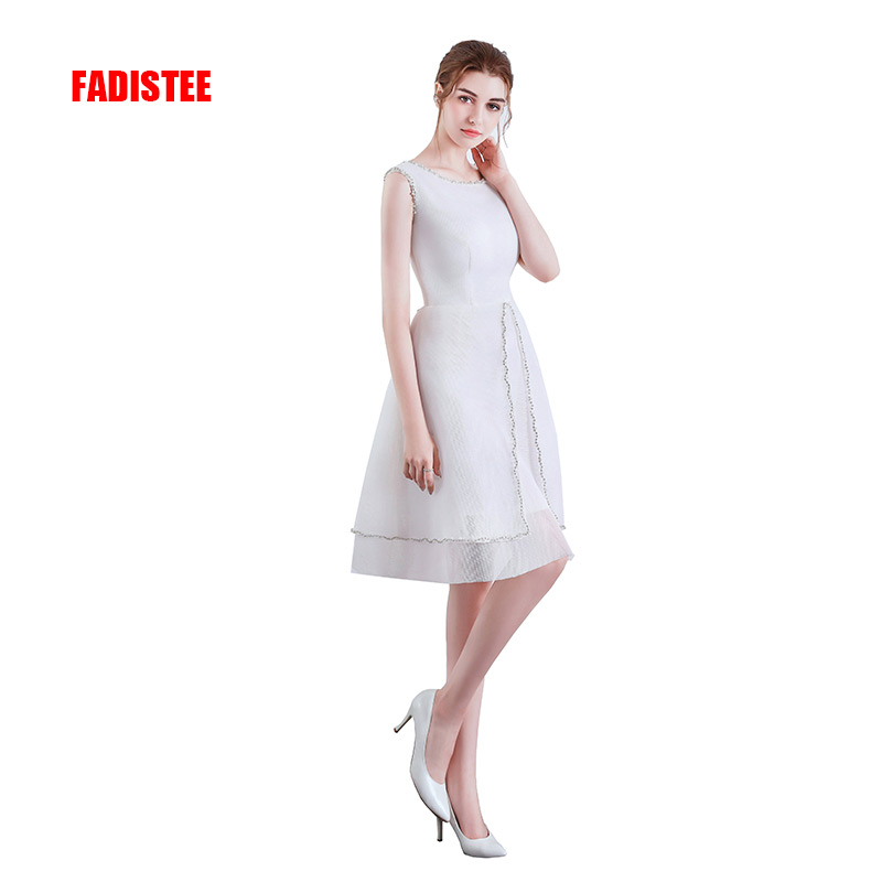 FADISTEE new arrival   prom     dresses   beading   dresses   formal party   dress   vestidos de festa short style A-line   dresses