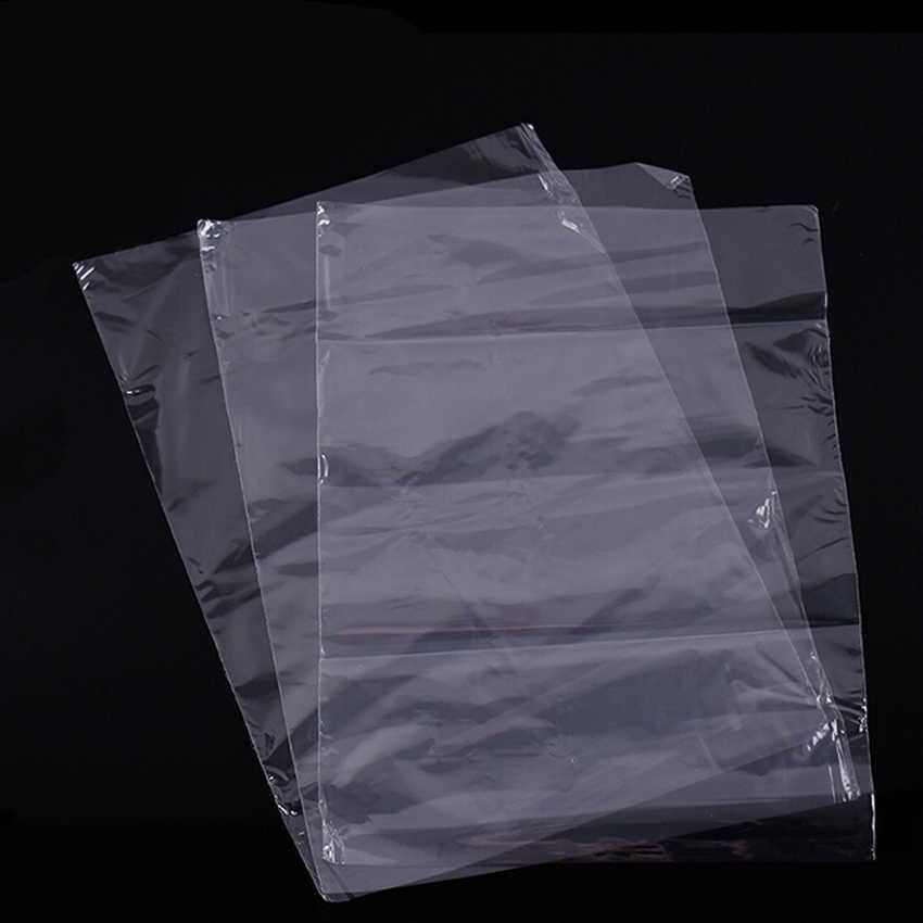 3.5x5.1 inch 500Pcs POF Heat Shrink Wrap Film Bag Flat Clear Transparent Plastic Shrinkable Bags Waterproof Heat Seal Pouch for Handmade Soap Bath Bombs Packaging 9x13cm