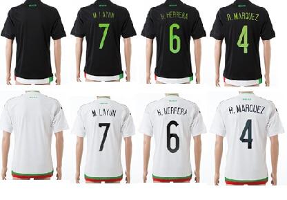 e9376660ad935 La calidad de la 15 16 tailandia selección mexicana de fútbol uniforme  Santos uniforme del fútbol méxico jerseys envío gratis en Camisetas de  fútbol de ...
