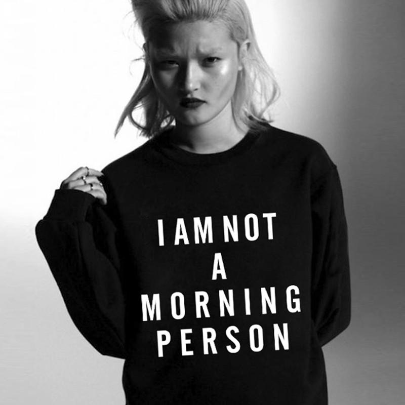 i am not a morning