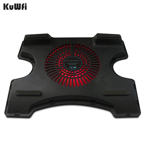 Image 3 - Laptop Cooler Cooling Pad Cooling X Stand for Laptops Notebook PC 14 Inch And Below With 2 USB 2.0 Port Silent Single Fan