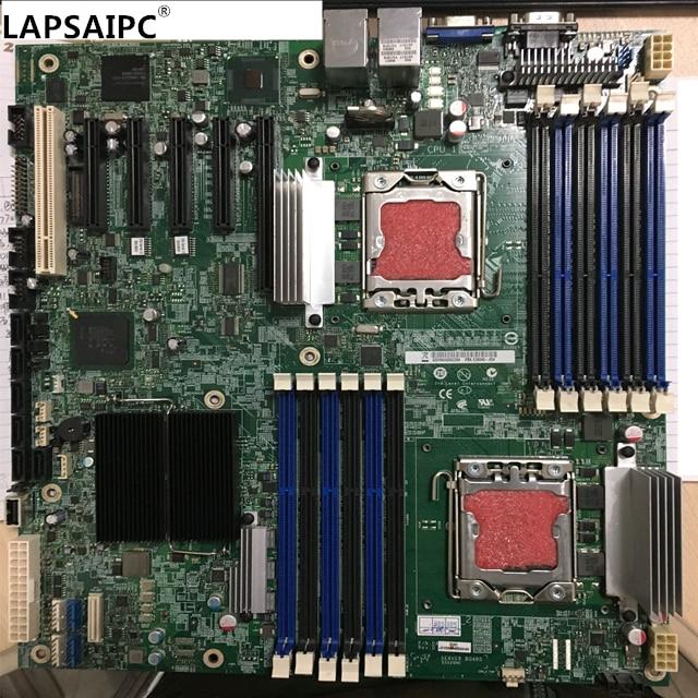 Lapsaipc S5520HC For X5650 X5680 x58 100% working original Dual LGA1366 SATA DDR3 Server System Motherboard