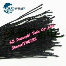 10 개/몫 NTC 서미스터 온도 센서 에폭시 MF52 10 K 1% 3950 길이 1 미터 모듈 온도 105