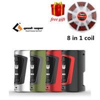Free Gift Newest Squonker Box Mod Geekvape GBOX Squonker Box Mod 200W Powered By Dual 18650