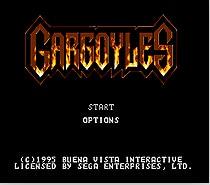 Gargoyles Game Cartridge Newest 16 bit Game Card For Sega Mega Drive / Genesis System