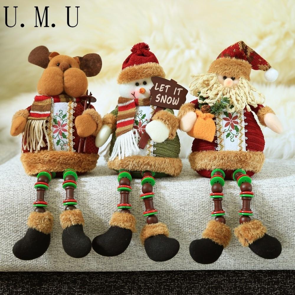 decoracin para mesa motivos navideos pap noel venados hombre de nieve navideo estatuas y navideas