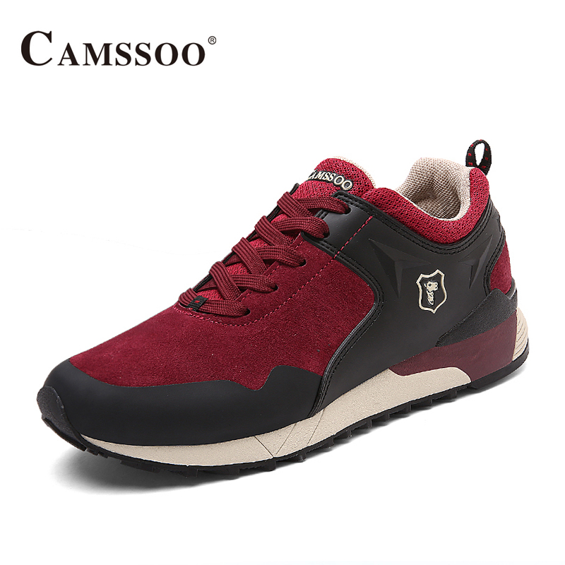 Camssoo Shoes Walking Women Soft Footwear Classic Sport Sneakers Light Brand Trail Shoes AA50193 camssoo new running shoes men soft footwear classic men sneakers sports shoes size eu 39 44 aa40375