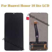 "Para Huawei honor 10 Lite LCD + MONTAJE DE digitalizador con pantalla táctil reparación de piezas 6,21 ""pantalla Original HRY LX2 HRY LX1 HRY AL00"