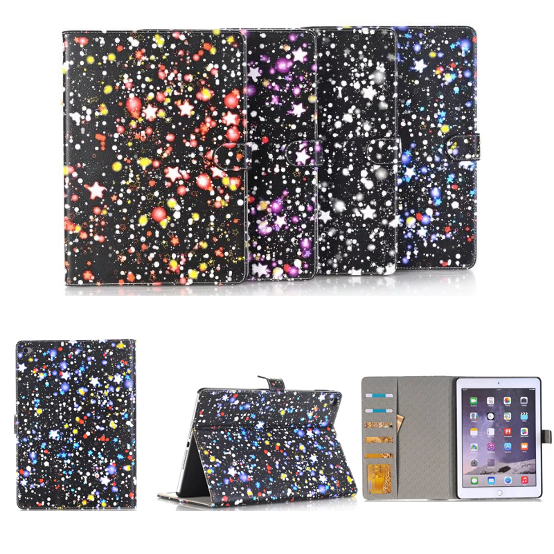 For Apple iPad Air 2 9.7 Case Leather Smart Dream Star Shockproof Tablet Cases For Apple iPad Air2 Cover For iPad 6 with Stand
