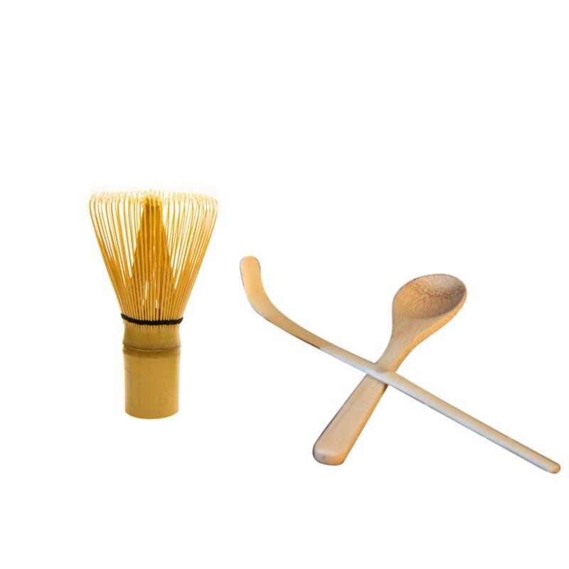 Insieme di tè di Tè Giapponese Set Matcha Frusta (Chasen), Cucchiaio del Tè, e Scoop (Chashaku) matcha Tè di Bambù Set Accessori