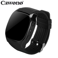 Cawono T8 Bluetooth Smart Watch Support SIM TF Card With Camera Sports Wristwatch Music Player for