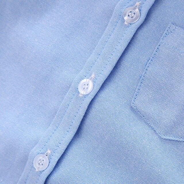 Boys' Short Sleeved Plain Polyester Shirt 4