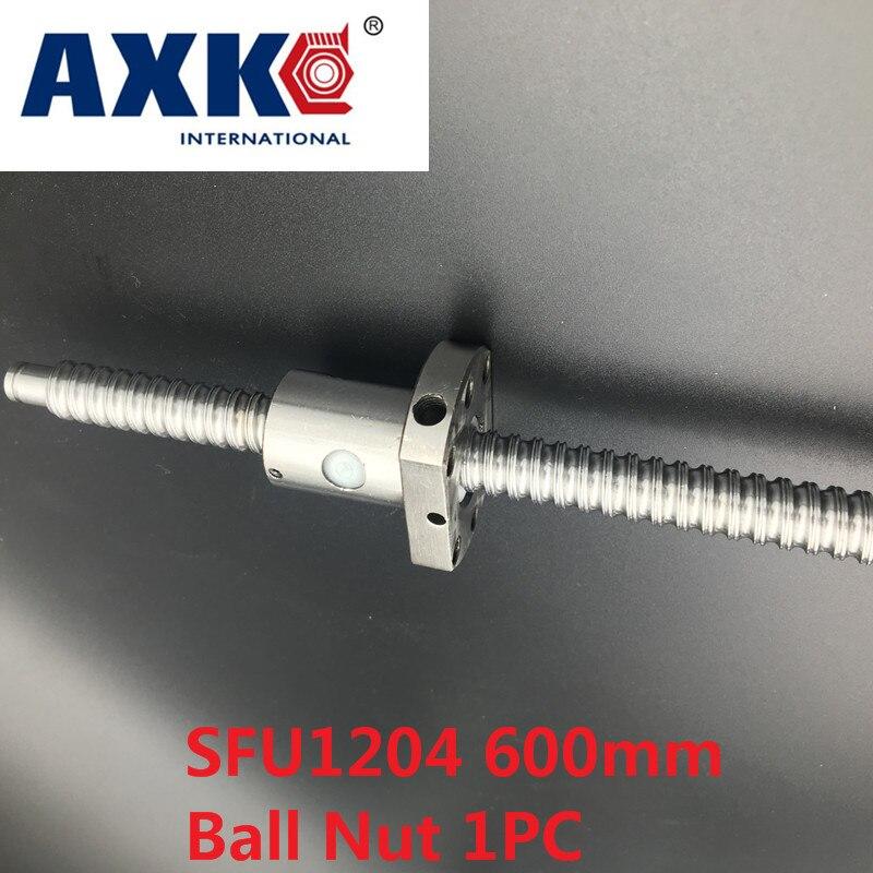 RM1204-660mm SFU1204-660mm End Machine Ball Screw /& Single Flange BallNut