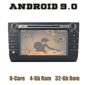 Android 9.0 Car GPS dvd Multimedia Player for Suzuki swift 2004-2010 with DSP IPS wifi usb 4+64GB Auto Stereo image