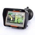 256 М ОПЕРАТИВНОЙ ПАМЯТИ 8 ГБ Flash 4.3 Дюймов Водонепроницаемый Bluetooth Moto GPS Навигатор gps навигатор Бесплатные Карты!
