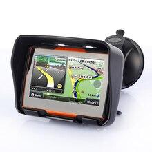 256M RAM 8GB Flash 4.3 Inch Waterproof Bluetooth Moto GPS Navigator Motorcycle gps navigator Free Maps!
