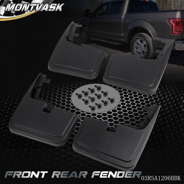 For Ford F  Mud Flaps W O Fender Flares Mud