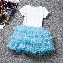 Kids Baby Girl Boy Clothes Cartoon Dress