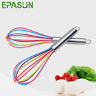EPASUN 10 Inches Stainless Steel Handle Silicone Egg Beaters Milk Cream Butter Egg Beater Tool Kitchen Tool