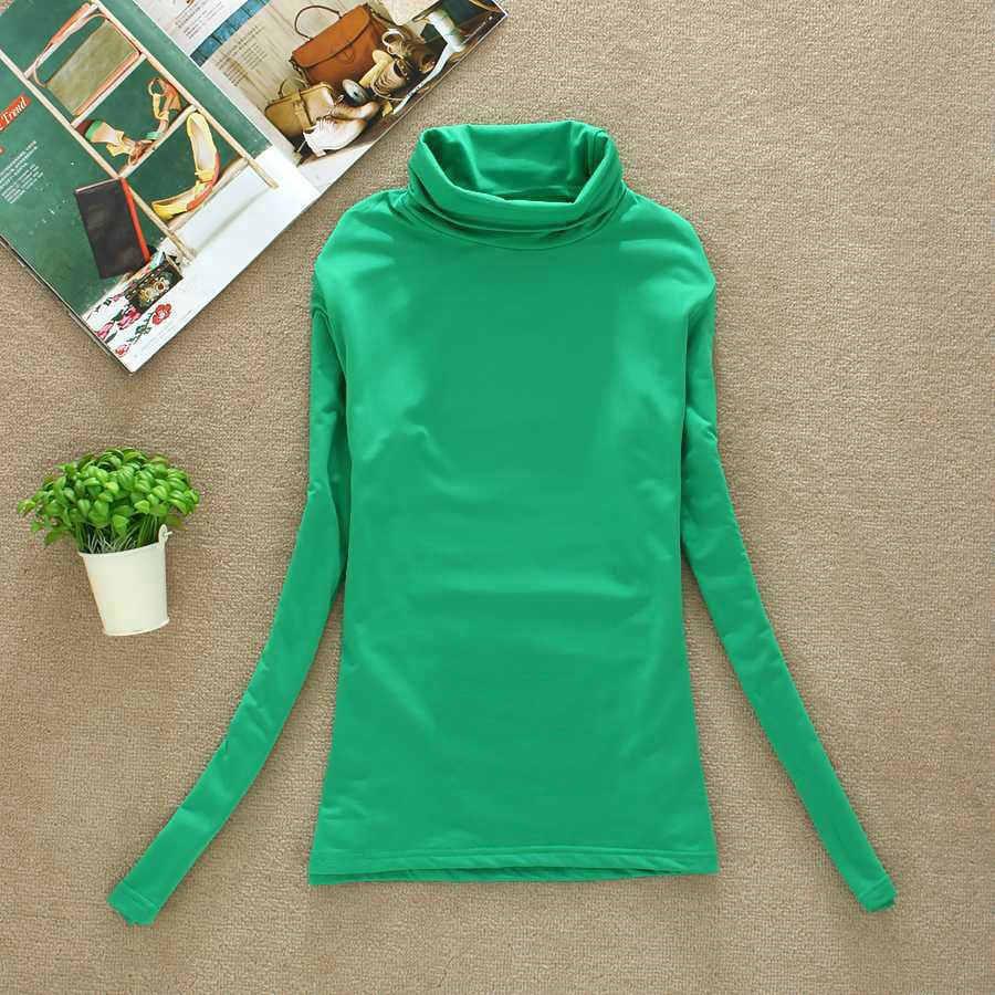 BACHASH 2019 Высокое качество Мода весна осень зима свитер женский шерстяной водолазка пуловеры Модные Женские однотонные свитера