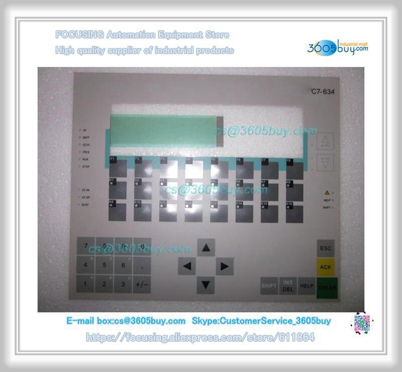 New 6AV6574-2AC00-2AA0 C7-634 Keysters Mask Membrane Switch