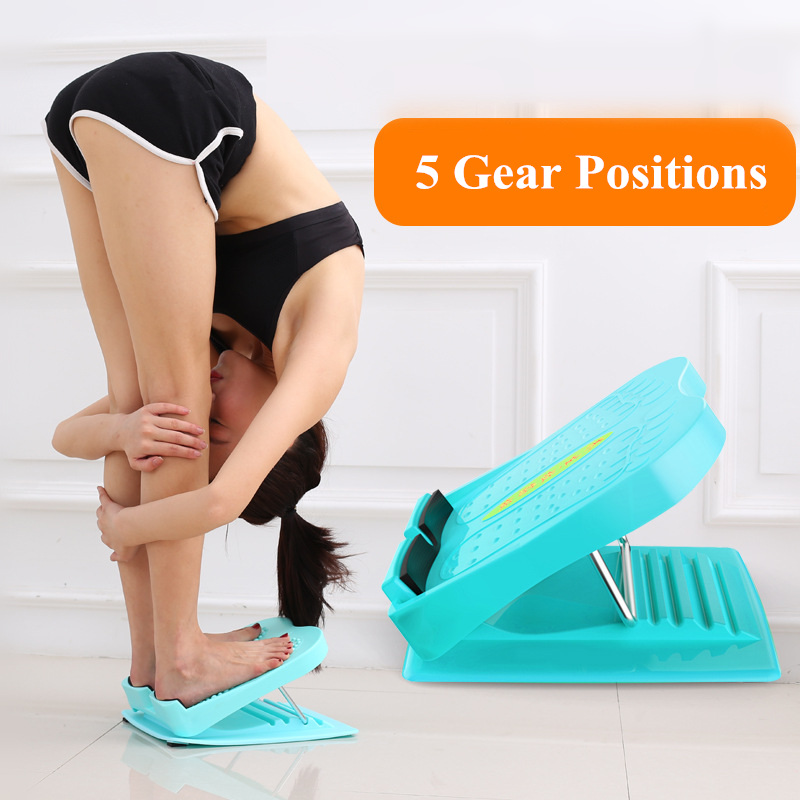 Folding Stool Pedal Stretch Board ABS Eco-friendly Fitness Plates Board For Foot Fasciitis Massage Leg Slimming Exerciser Boards