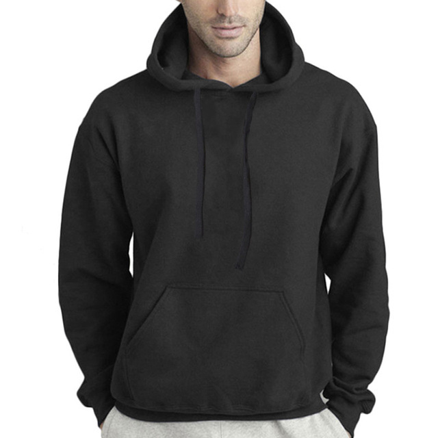 Autumn and Winter Men's Hoodies Sweatshirts Pullover for Male  2