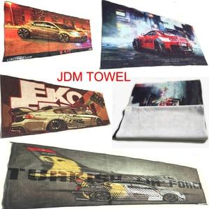 JQ 35 x 75 cm long design Car Wash Paint Auto Care Cleaning Auto Care Cleaning Towel Microfiber Sponge Pad Clay JDM Racing Towel