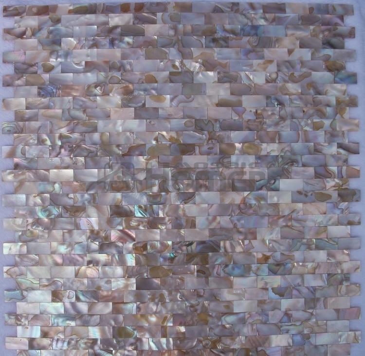 Kuche Backsplash Bad Mosaik Fliesen Tiefe Farbe Perlmutt