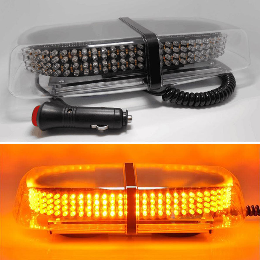 ФОТО BBQ@FUKA Amber 240 LED Bar Car Trunk Roof Top Emergency Hazard Warning Light Flash Strobe
