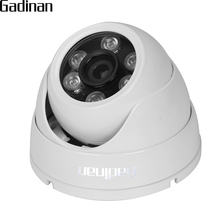 GADINAN HD AHD 3MP 4MP Camera Wide Angle 2.8mm Optional Metal Dome Vandal-proof CCTV Camera Surveillance Security 6 Array IR