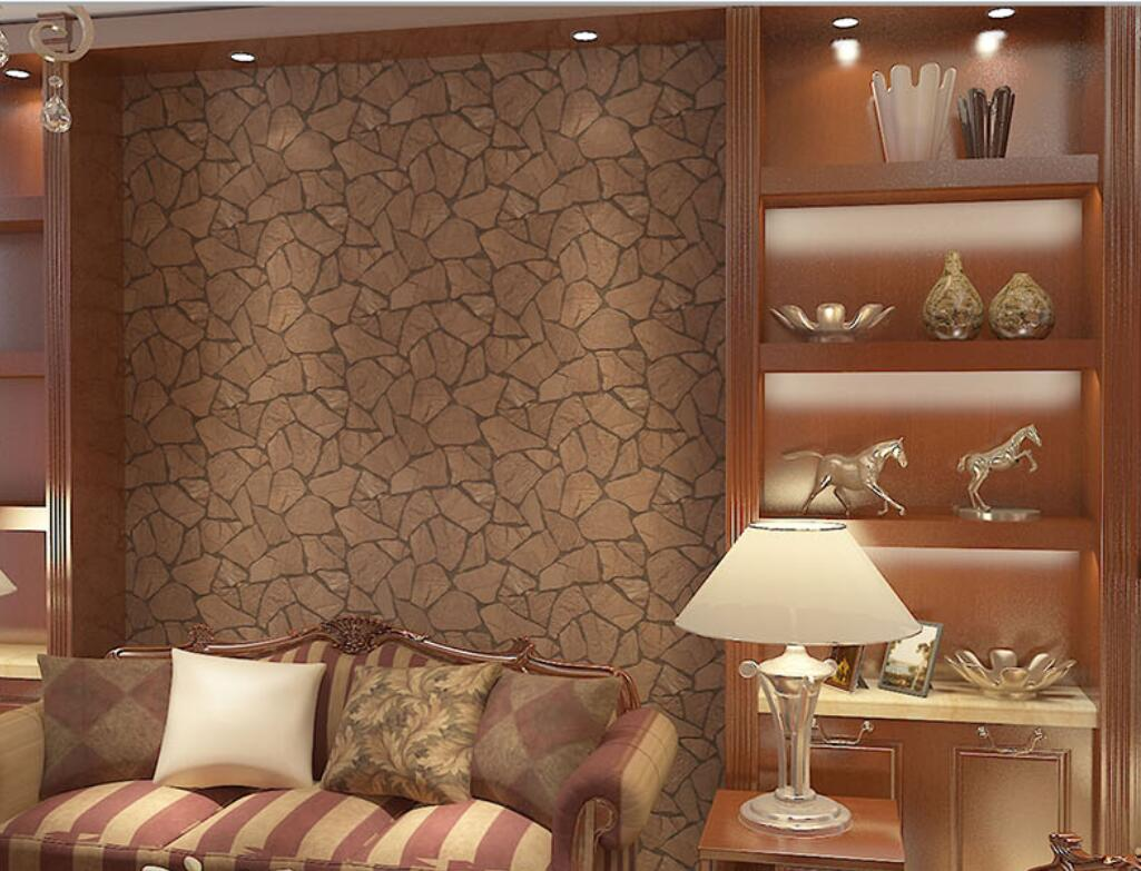 Italian Style Living Room Background Vinyl Brick Wallpaper - 3d brick wallpaper living room