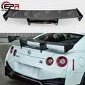 Для Nissan GTR R35 углеродное волокно Nismo Стиль задний спойлер тормозной светильник крыло багажника гоночный Кузов Набор для R35 GT-R тюнинг стайлинг...