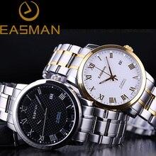 Easman часы мужчины золото роскошный бизнес 21 драгоценности автоматическая марка световой часы механические наручные часы король босс мужчины часы
